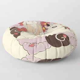 Master and Servant Floor Pillow
