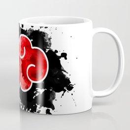red cloud akatsuki watercolor Coffee Mug