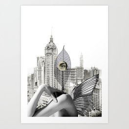 I wanted to be mean person Art Print