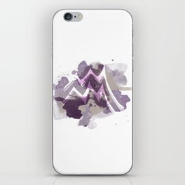 Amethyst Aquarius iPhone Skin