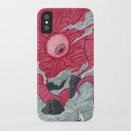 Crawling Eyes iPhone Case