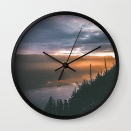 Early Mornings Wall Clock