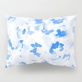 AbstractFlora Lapis Blue Pillow Sham