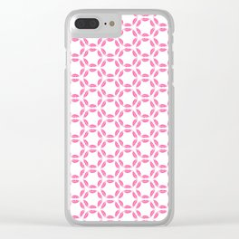 My Lips are Sealed Clear iPhone Case