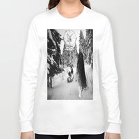 pagan Long Sleeve T-shirts featuring Pagan forest by Kristina Haritonova