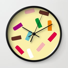 Three scoops Wall Clock