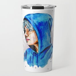 Taehyung watercolor BTS Travel Mug