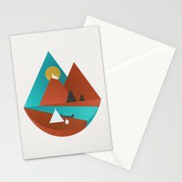 Tipi by the River Stationery Cards