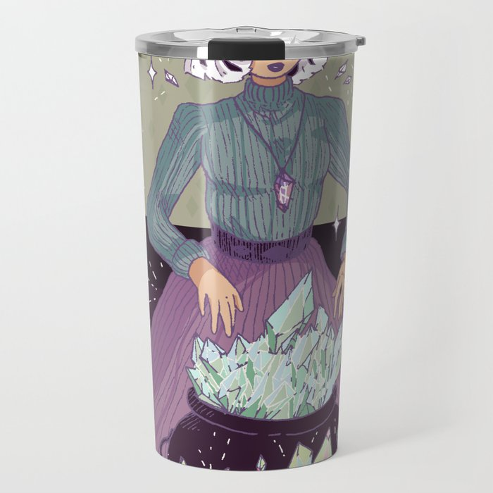 Crystal Witch Travel Mug