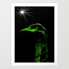 Mr Emu Art Print