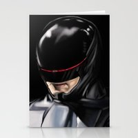 robocop Stationery Cards featuring RoboCop (2014) by Jamie Briggs