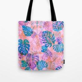 Kona Tropic Coral Tote Bag