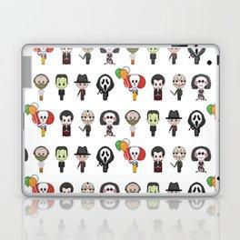 Serial Killers Pattern (Pixel Art) Laptop & iPad Skin