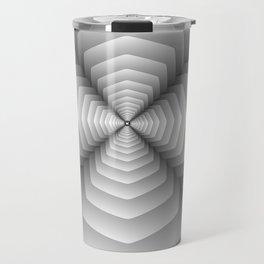 3D Spiral Metal Travel Mug
