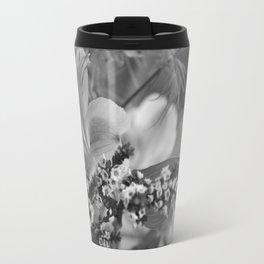 Freesia 2 B&W Travel Mug