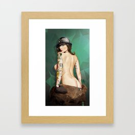 Self Portrait as a Lady No.3 AKA Self Portrait as Rrose Sélavy Framed Art Print