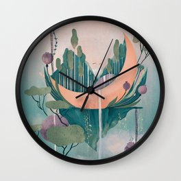 Secret world Wall Clock