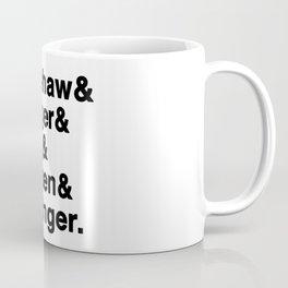 The Dodgers Five Coffee Mug