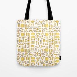 Pasta, a pattern. Tote Bag