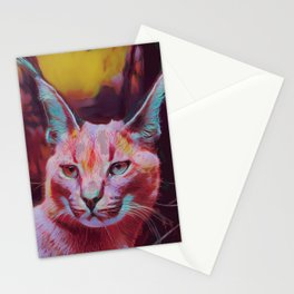 Caracal III Stationery Cards