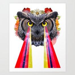 the owltimate Art Print