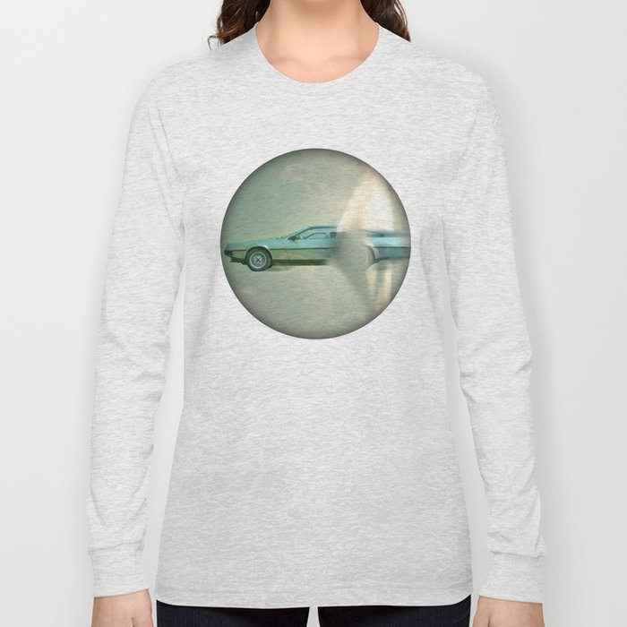 Supersonic Delorean Long Sleeve T-shirt