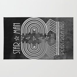 Star Man and The Spiders from Mars Rug