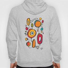 Scribbles 01 in Color Hoody