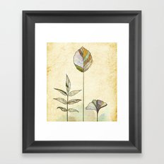 Leaf Study Framed Art Print