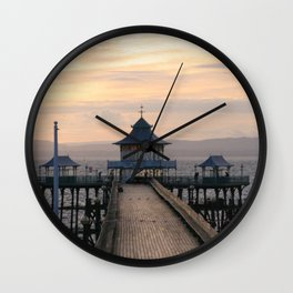 To the End of the Pier Wall Clock