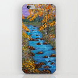River of Change iPhone Skin