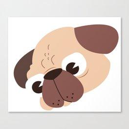 Pug for life Canvas Print