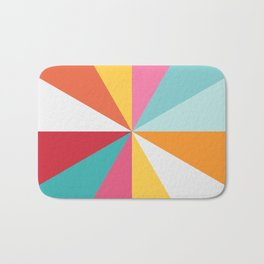 Color Wheel Bath Mat