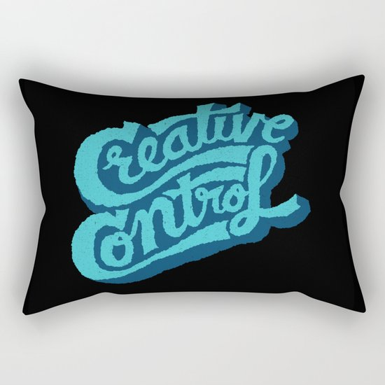Creative Control Rectangular Pillow