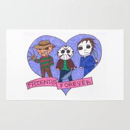 Friends Forever Horror Rug