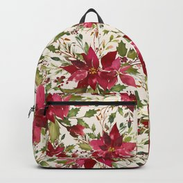POINSETTIA - FLOWER OF THE HOLY NIGHT Backpack