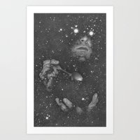 nebula Art Prints featuring Nebula by Boris Pelcer