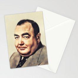 Eugene Pallette, Vintage Actor Stationery Cards