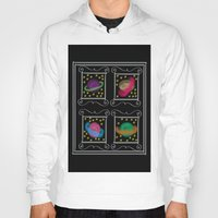 planets Hoodies featuring Planets by Art Stuff