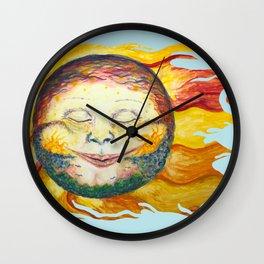 Sun Dreams Wall Clock