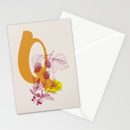 Q Stationery Cards