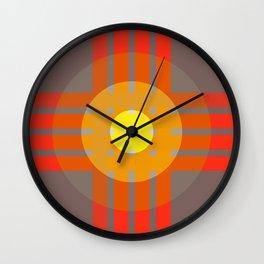 Symmetric Retro Circle Wall Clock