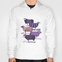 animals Hoodies featuring Cool Sweaters by Jacques Maes