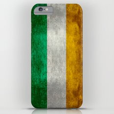 Republic of Ireland Flag, Vintage grungy Slim Case iPhone 6 Plus