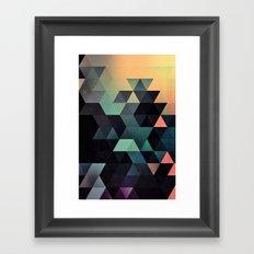 ynclyssy Framed Art Print