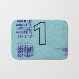 Ilium Public Library Card No. 1 Bath Mat