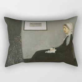 Whistler's Mother Rectangular Pillow
