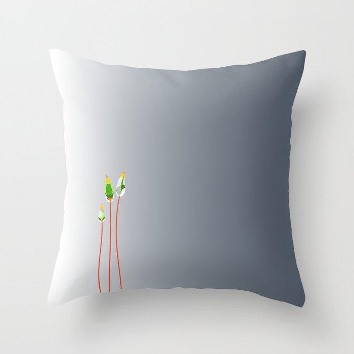Calyptrae Throw Pillow