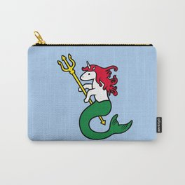 Mermicorn (Unicorn Mermaid) Carry-All Pouch