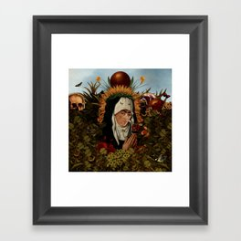 Frida VII Framed Art Print